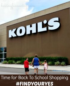 Make Back To School Shopping A Success With Kohl's