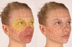 A face wireframe with reasonable edgeflow, the bridge of the nose and eyes also the side of the face looks useful for resurfacing. Zbrush Tutorial, 3d Tutorial, Digital Art Tutorial, Maya Modeling, Modeling Tips, 3d Model Character, Character Modeling, Game Character, Face Anatomy