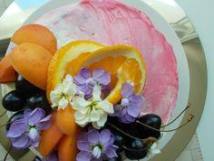 Gluten free apricot-orange cake.Summer variation. Real Food Recipes, Gluten Free, Orange, Fruit, Eat, Kitchen, Summer, Glutenfree, Cuisine