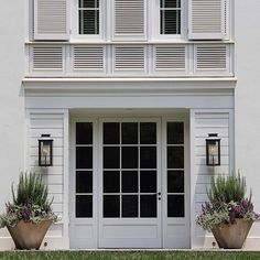 "#classicbeauty courtesy of @ruardveltmanarchitecture ・・・ ""American"" series in Charlotte NC  our friendly french ""front door"" with Gapped Shiplapped siding, and Louvered Bay above. Traditional with a splash of modern -RV #ruardveltmanarchitecture"