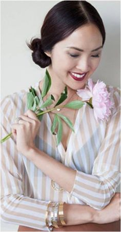 A chignon is perfect for any occasion