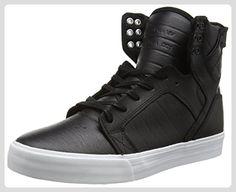 Supra SKYTOP, Unisex-Erwachsene Hohe Sneakers, Schwarz (BLACK - WHITE BKW), 45 EU (10 Erwachsene UK) - Sneakers für frauen (*Partner-Link)