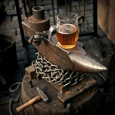 The essence of life a good hammer and a decent draft.