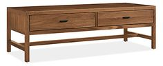 The simple form of the Berkeley cocktail table pairs equally well with both classic and modern styles. Handcrafted in North Dakota from solid wood and carefully selected wood veneers, it will serve you well for years to come. Drawers on both sides and hand-forged pulls finish the look.