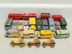 Job Lot Of 21 Old Lesney Moko Matchbox Cars  - http://www.matchbox-lesney.com/51675