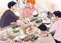 Haikyuu Manga, Haikyuu Funny, Anime Manga, Hinata Shouyou, Kagehina, Kuroo, Time Skip, Haruichi Furudate, Worst Day