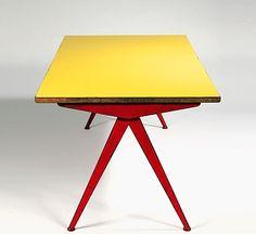 Jean Prouvé, Compass Table, 1950.