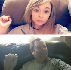 Muitos pais não gostam das fotos que seus filhos postam no Instagram. No entanto, há duas formas de encarar esta situação: irritando-se ou usando o bom humor. O homem norte-americano que se tornou o mais novo fenômeno da Internet escolheu a segunda opção. Chris Burr Martin decidiu imitar as selfies que