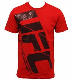 UFC Air T-Shirt - Red: Amazon.co.uk: Sports & Outdoors