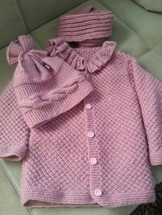 Baby Knitting, Projects To Try, Cap, Sweaters, Fashion, Long Scarf, Goal, Dots, Patterns