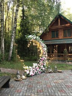 Wedding Ceremony Ideas, Wedding Scene, Wedding Themes, Backdrop Wedding, Indoor Wedding Decorations, Ceremony Arch, Wedding Reception, Wedding Ceremonies, Wedding Flowers
