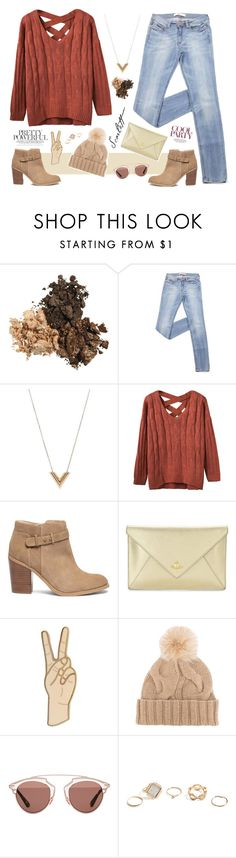 """Scarlett Winter"" by pineapplesandpomegranates ❤ liked on Polyvore featuring Louis Vuitton, Sole Society, Vivienne Westwood, Lucky Brand, Loro Piana, Christian Dior and GUESS"