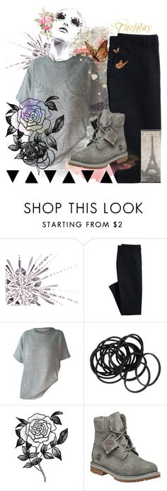 """""""#Lazy week (tuesday)"""" by banana0307 ❤ liked on Polyvore featuring GE, Canvas by Lands' End, H&M, Forever 21 and Timberland"""