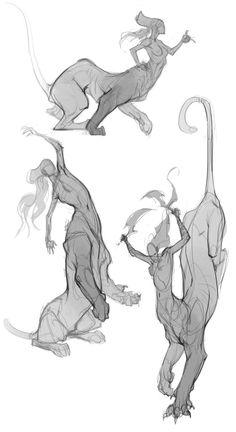 Artemis Sketches III by IzzyMedrano on DeviantArt