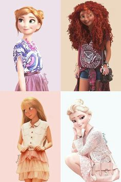 cool-Disney-princess-modern-day