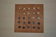 DIY games  jeux en bois L'ALQUERQUE