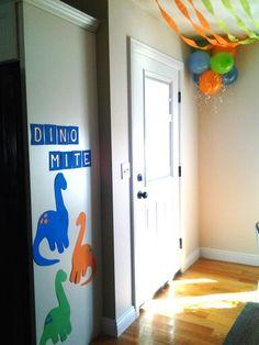 Lawson's birthday decorations