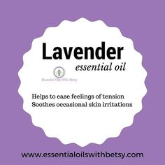 Lavender made me fall in love with essential oils!  Which oil was your first?  #essentialoilswithbetsy #lavender