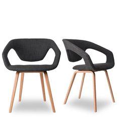 Lot de 2 chaises design Flex Back