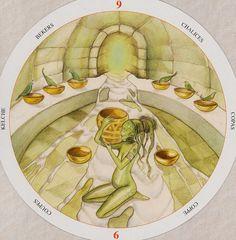 Nine of Cups - Circle of Life Tarot by Maria Distefano