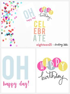 Narozeninove Prani Ke Stazeni Avytisteni Zdarma Printable Birthday Note Cards Happy Tag