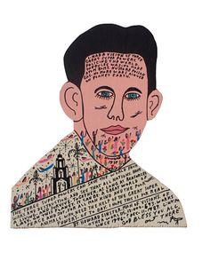 Howard Finster self portrait