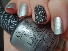Out With The Old, In With The New - New Years '14 nails *click for more*