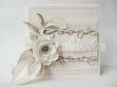 Celebrate kartka pudełku scrapbooking kartki marbella ślub