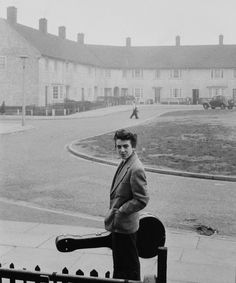 """Unknown photographer, 1950s, Young George Harrison """"If you don't know where…"""