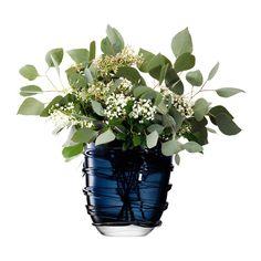 Discover the LSA International Yarn Vase - Sapphire Blue - 24cm at Amara