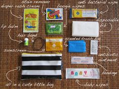a look inside The Baby Mama Saver by Mini Savers - $19.95