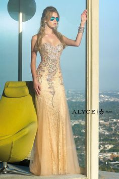 Alyce Prom 6390  Alyce Paris Prom Lillian's Prom Boutique