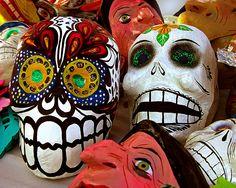 Diá de los Muertos Market by Laurie Zuckerman, Guanajuato Mexico
