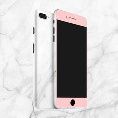 Iphone marble and pink phone skin  #marble #pink #white #wraps #avaltskins #decals #phoneskins #customizable #skins #vinyl #vinylwrap #apple #iphone8