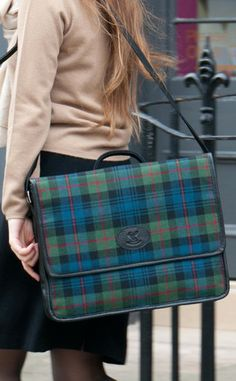 Tartan Laptop Bag