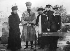News Photo : Empress Maria Fyodorovna, Grand Duke Michael... Catalina La Grande, Familia Romanov, Grand Duc, Christian Ix, Maria Feodorovna, Last Emperor, House Of Romanov, Tsar Nicholas, Royals
