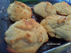 """The HOME GIRL!: Whadda We Eatin' Wednesday #8 - Recipe for """"Sprite Southern Drop Butter Biscuits"""""""