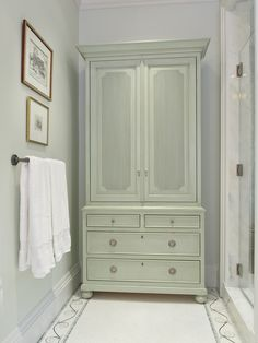 Beautiful piece for a bathroom, Gary Inman Home Couture