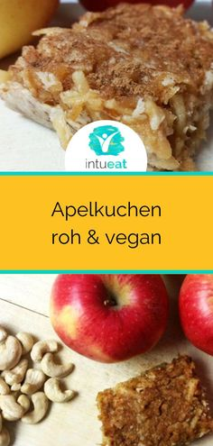 Are you looking for a recipe for apple pie? And it should also be raw and vegan . - Are you looking for a recipe for apple pie? And should it still be raw and vegan? Diet Salad Recipes, Raw Food Recipes, Vegetarian Recipes, Vegan Cru, Raw Vegan, Vegetarian Breakfast, Vegan Breakfast Recipes, Sandwich Vegan, Looking For A Recipe