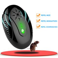 Security & Protection Portable Intelligent Electronic Ultrasonic Mosquito Insect Repellent Pest Reject Insect Killer Adjustable Frequencies Usb Charg To Clear Out Annoyance And Quench Thirst Access Control