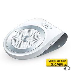 AGPTek T821 Altavoz Bluetooth 4.1 para coche con... #altavoces #coche