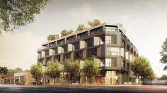 Apartments with Retail at Santa Monica and Barrington   Urbanize LA