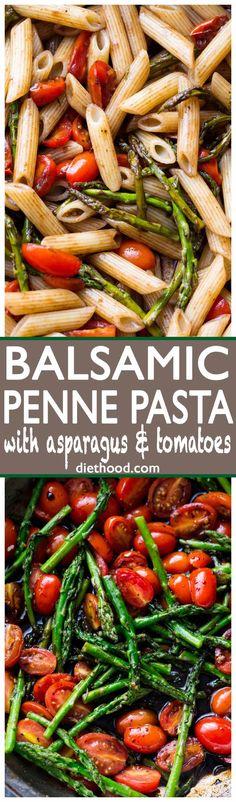 Balsamic Penne Pasta