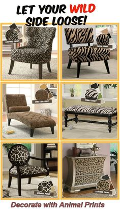 Decorate with Animal Prints
