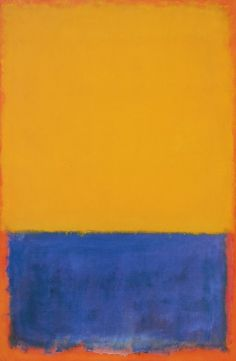 1955 Mark Rothko Yellow and Blue (Yellow, Blue and Orange) Huile sur Toile 259,4x169,6 Pittsburg, Carnegie Museum of Art  Uploaded: January 02, 2012   75