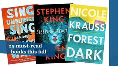 25 must-read books this fall