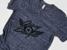 Gipsy Danger V-neck Shirt Pacific Rim Inspired Unisex Vneck Shirt