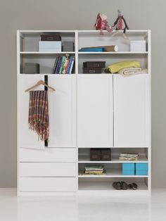 lundia-kast Classic Shelves, Slider Images, Hobby Room, Room Shelves, Lund, Storage Solutions, Cupboard, Tall Cabinet Storage, Shelving