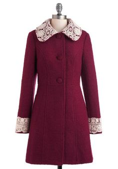 Mulberry Scones Coat, #ModCloth
