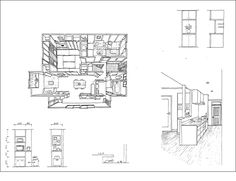 M様邸プレゼンボード Architecture Graphics, Concept Architecture, Tunisia Image, Drawing Sketches, Drawings, Storyboard, Perth, Home Projects, Bungalow